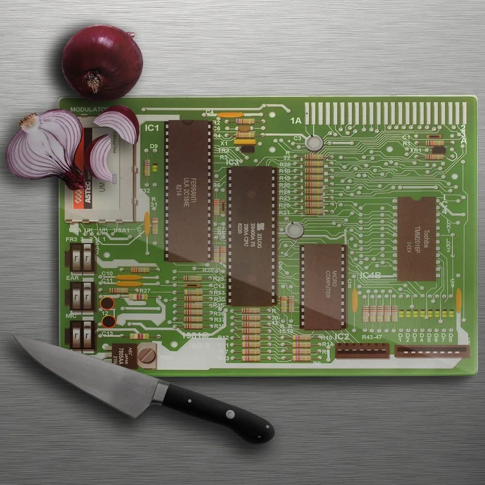 Motherboard Chopping Board - The Tank Museum
