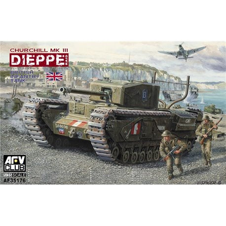 AFV Club Churchill Mk. III Dieppe Raid