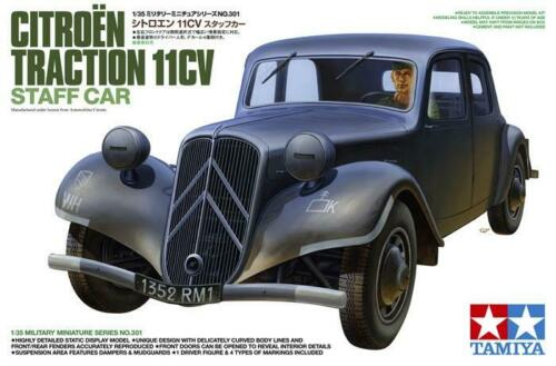 Tamiya 1/35 Citroen Traction 11CV Staff Car