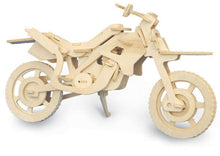 Load image into Gallery viewer, Cross-Country Motorbike Woodcraft Kit - The Tank Museum