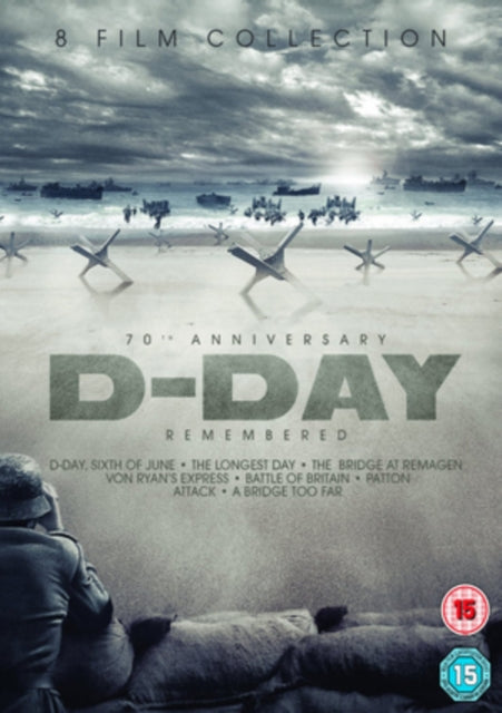 70th Anniversary D-DAY Remembered - 8 Film Box Set