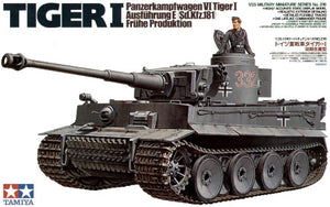 Tamiya Tiger I Initial Production 1/35 - The Tank Museum