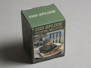 Egg-Splode Cup and Toast Cutter