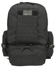 Load image into Gallery viewer, Expedition Pack Black 50L