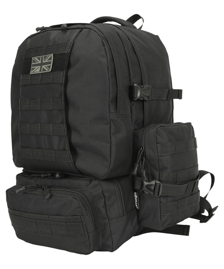 Expedition Pack Black 50L