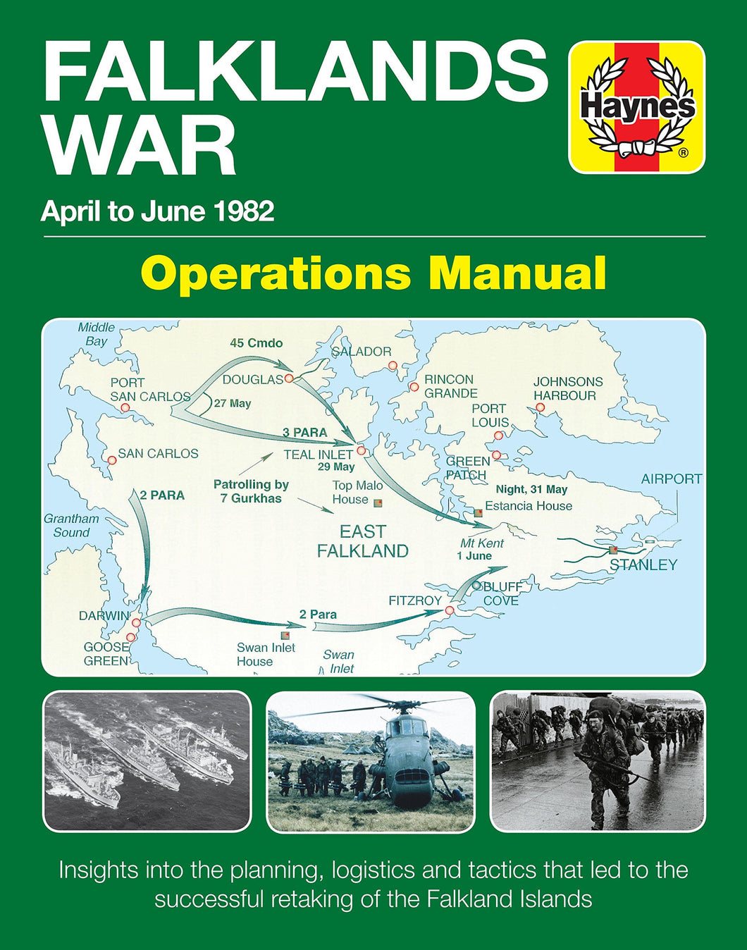 The Falklands War Operations Manual - The Tank Museum