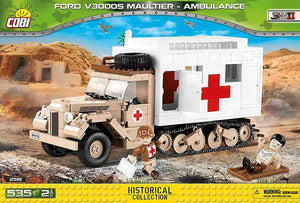 Cobi Ford V3000S Maultier Ambulance Model - The Tank Museum