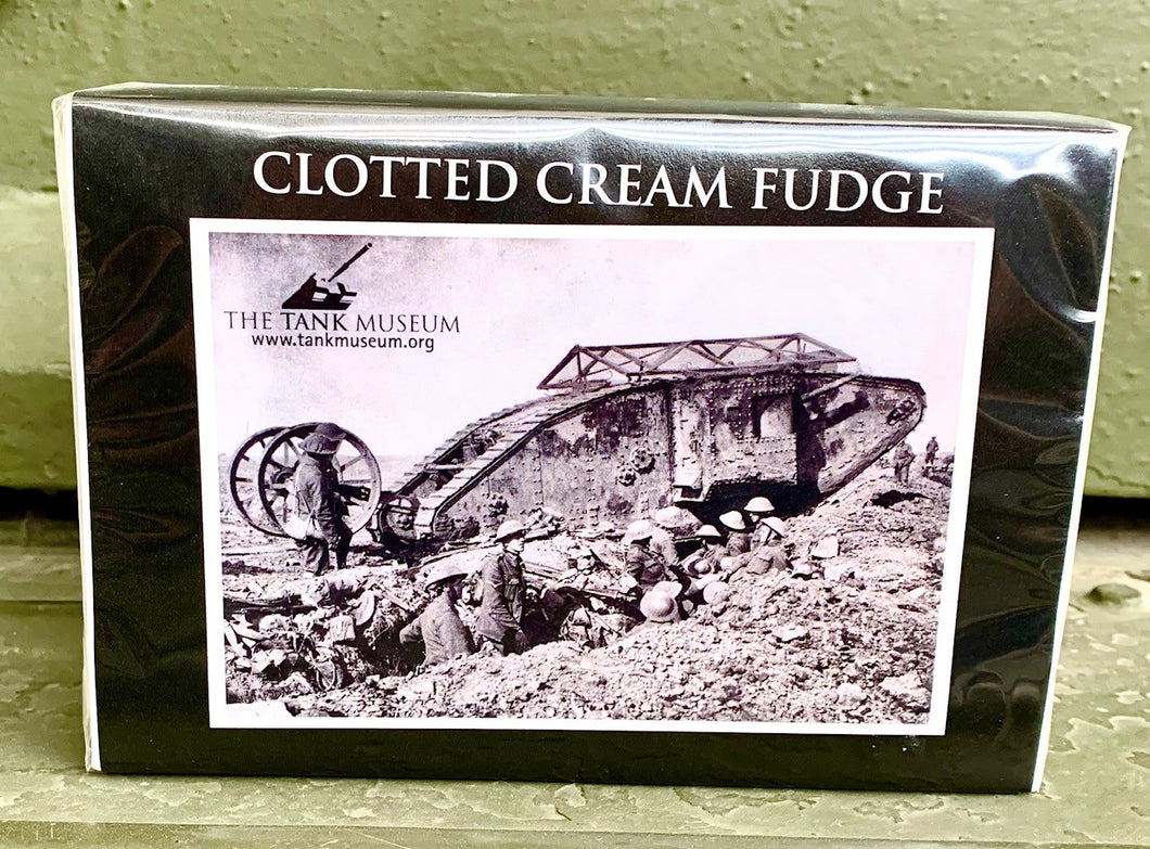 Clotted Cream Fudge - The Tank Museum