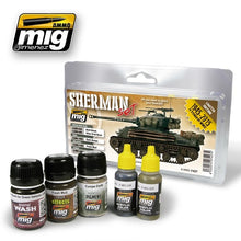 Load image into Gallery viewer, Ammo by Mig - Sherman Set (Limited Edition) - The Tank Museum