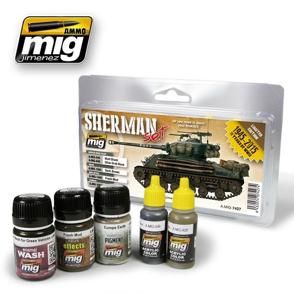 Ammo by Mig - Sherman Set (Limited Edition) - The Tank Museum