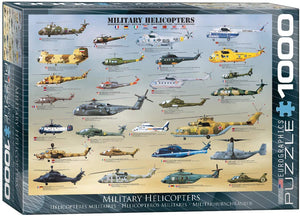 Military Helicopters 1000-piece Jigsaw Puzzle - The Tank Museum