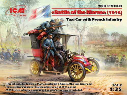 ICM 1:35 Battle Of The Marne 1914