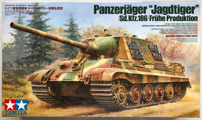 "Tamiya Panzerjäger ""Jagdtiger""   Early Production 1/35"