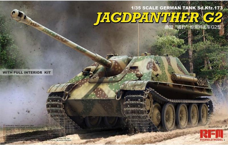 Ryefield 1/35 Jagdpanther G2 - The Tank Museum