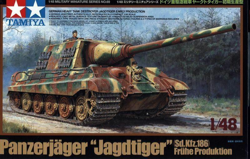Tamiya 1/48 Panzerjager 'Jagdtiger' Sd.Kfz.186 Early Production