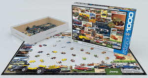 Jeep Advert Collection 1000-piece Jigsaw Puzzle - The Tank Museum