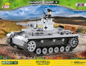 Cobi Panzer III Ausf. E Model - The Tank Museum