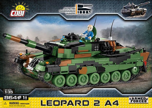 OOS COBI Leopard 2A4 Model - The Tank Museum