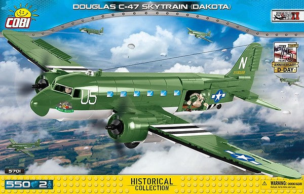 Cobi Douglas C-47 Skytrain (Dakota) Model
