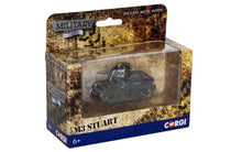 Load image into Gallery viewer, Corgi Military Legends M3 Stuart - The Tank Museum
