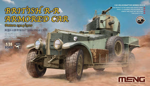 Meng 1/35 British Rolls-Royce Armoured Car - The Tank Museum