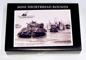 Mini Shortbread Rounds - The Tank Museum