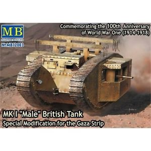 Master Box MK1 'Male' British Tank - The Tank Museum