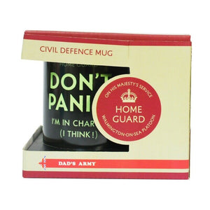 OOS Dad's Army 'Don't Panic, Coffee Rations' Mug with Gift Box - The Tank Museum