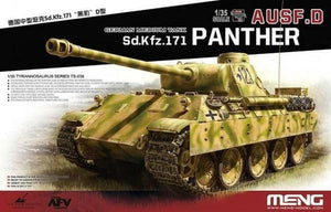 1/35 Scale Meng Sd.Kfz.171 Panther Ausf.D Model