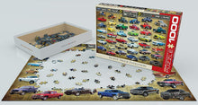 Load image into Gallery viewer, Pickup Truck Evolution 1000-piece Jigsaw Puzzle - The Tank Museum