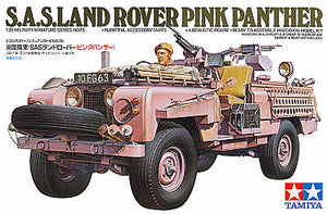 Tamiya S.A.S Land Rover Pink Panther 1/35 - The Tank Museum