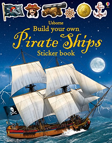 Build Your Own Pirate Ship Sticker Book - The Tank Museum