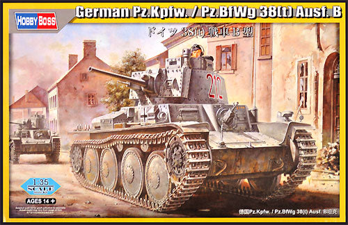 OOS Hobby Boss 1/35 German Pz.Kpfw.38(t) Ausf. B - The Tank Museum