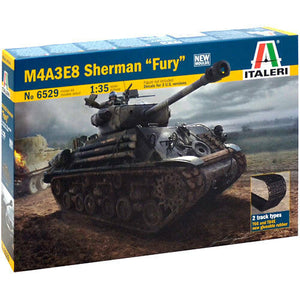 "Italeri M4A3E8 Sherman ""FURY"" Easy-Eight 1/35 - The Tank Museum"