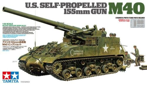Tamiya 1/35 U.S. Self Propelled M40