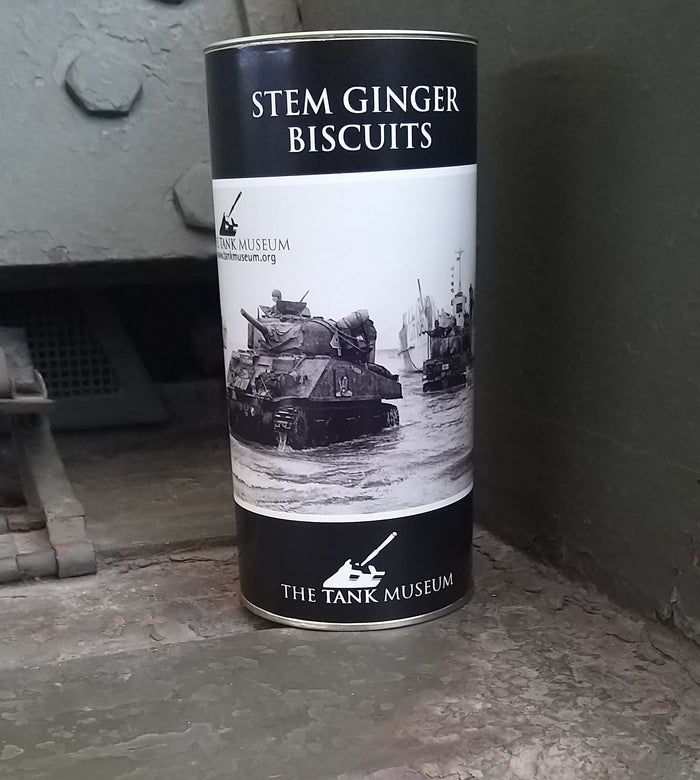 Stem Ginger Biscuits Drum
