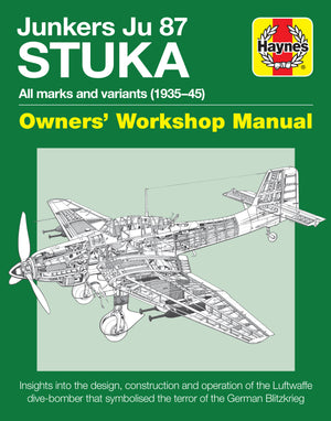 Junkers Ju 87 Stuka Haynes Workshop Manual - The Tank Museum