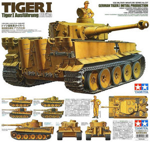 Tamiya Tiger I - The Tank Museum