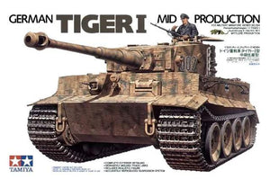Tamiya Tiger I   Mid Production 1/35 - The Tank Museum