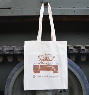 Tiger Day Canvas Bag - The Tank Museum