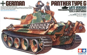 Tamiya Panther Type G Late Version 1/35 - The Tank Museum