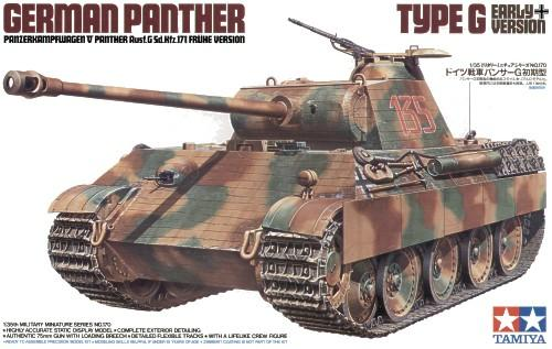 Tamiya German Panther Type G 1/35