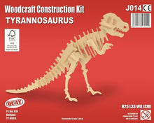 Load image into Gallery viewer, Tyrannosaurus Woodcraft Kit