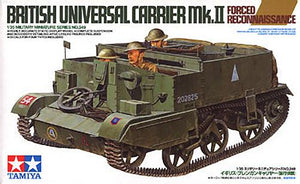 Tamiya British Universal Carrier Mk. II   Forced Reconnaissance  1/35 - The Tank Museum
