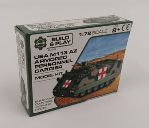 1/72 USA M113 AZ Armoured Personnel Carrier - The Tank Museum