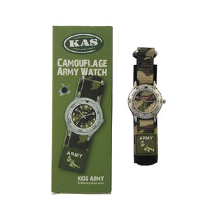 Kids Camoflage Army Watch - The Tank Museum