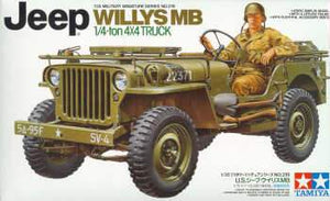 Tamiya JEEP WILLYS MB 1/4 TON 4X4 TRUCK 1/35 - The Tank Museum