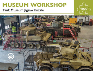 Tank Museum Jigsaw Museum Workshop - The Tank Museum