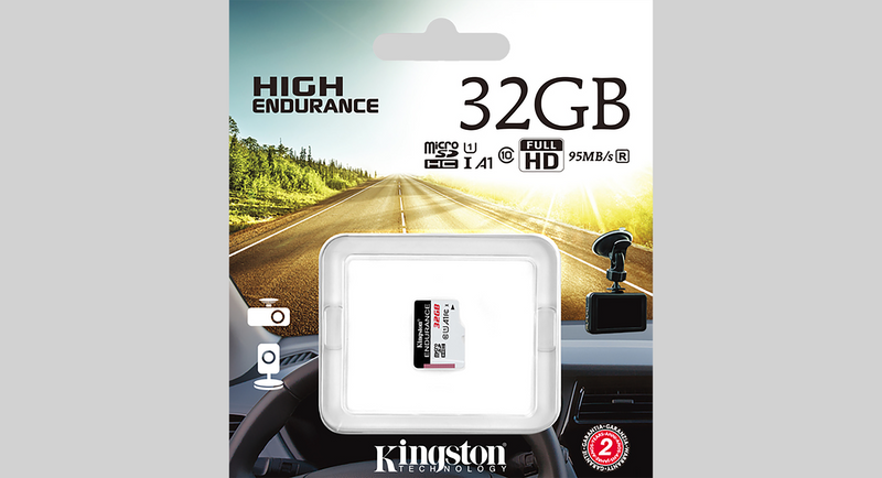 32GB Kingston High-Endurance Memory Card