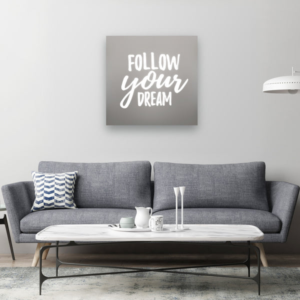 Follow Your Dream Illuminated Mirror